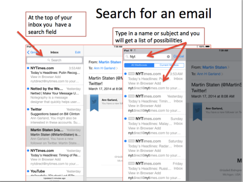 Search for an email